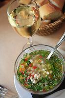 The bistro Ferdi, paris 1e..ceviche.....Photograph by Owen Franken........ - Photograph by Owen Franken