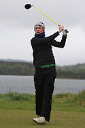 Fionn Hickey (Muskerry) on the 6th tee during Round 3 of the Ulster Boys Championship at Donegal Golf Club, Murvagh, Donegal, Co Donegal on Friday 26th April 2019.<br /> Picture:  Thos Caffrey / www.golffile.ie