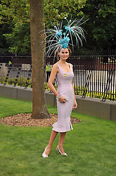 ISABELL KRISTENSEN at the Royal Ascot racing festival 2009 held on 17th June 2009.