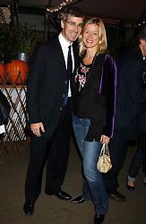 MR TIM & LADY HELEN TAYLOR at an exclusive evening featuring the greatest talents in fashion today in aid of the African children who have been affected bt the AIDS epidemic held at the Chelsea Gardener, Sydney Street, London on 20th September 2004<br /><br />NON EXCLUSIVE - WORLD RIGHTS