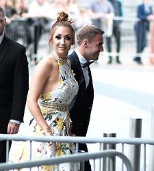 British Soap Awards, Saturday 3rd June 2017<br /> <br /> Stars arrive on the red carpet for the British Soap Awards 2017<br /> <br /> Lucy Jo Hudson and Alan Halsall arrive<br /> <br /> (c) Alex Todd | Edinburgh Elite media