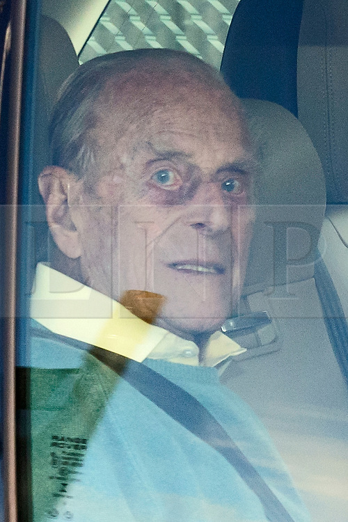 © Licensed to London News Pictures. 04/08/2020. London, UK. QUEEN ELIZABETH II (not pictured) and PRINCE PHILIP arrive at RAF Northolt in London to board a plane to take them to their Balmoral residence in Scotland for summer break. Photo credit: Ben Cawthra/LNP
