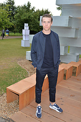 Actor WILL POULTER at a party hosted by fashion store COS to celebrate The Serpentine Park Nights 2016 held at The Serpentine Gallery, Kensington Gardens, London on 12th July 2016.
