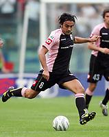 Roma 25/9/2005 Campionato Italiano Serie A <br /> Lazio Palermo 4-2 <br /> Simone Barone Palermo<br /> Photo Andrea Staccioli Digitalsport<br /> Norway only