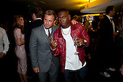Gary Barlow; Dizzee Rascal, The 2009 GQ Men Of The Year Awards at The Royal Opera House. Covent Garden.  8 September 2009.