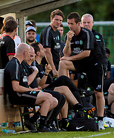 03/07/14 PRE-SEASON FRIENDLY<br /> FK KRASNODAR v CELTIC<br /> HOFMANINGER STADION - BAD WIMSBACH<br /> Celtic manager Ronny Deila (right) confers with his bench