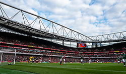 A general view of Emirates Stadium during the match
