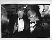 Donald Trump and Abe Rosenthall in New York 1990,ONE TIME USE ONLY - DO NOT ARCHIVE  © Copyright Photograph by Dafydd Jones 66 Stockwell Park Rd. London SW9 0DA Tel 020 7733 0108 www.dafjones.com