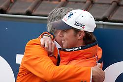 Voorn Albert and Vincent (NED)<br /> FEI Nations Cup La Baule 2012<br /> © Dirk Caremans