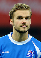 Uefa - World Cup Fifa Russia 2018 Qualifier / <br /> Iceland National Team - Preview Set - <br /> Holmar Orn Eyjolfsson