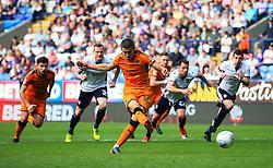 Conor Coady of Wolverhampton Wanderers scores his sides fourth goal - Mandatory by-line: Matt McNulty/JMP - 21/04/2018 - FOOTBALL - Macron Stadium - Bolton, England - Bolton Wanderers v Wolverhampton Wanderers - Sky Bet Championship