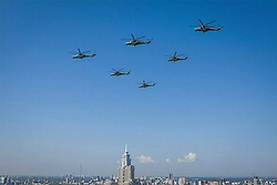 May 4, 2017 - Moscow, Russia - May 4, 2017. - Russia, Moscow. - Rehearsal of the air part of the Victory Day parade. Photo from Russian Ministry of Defence facebook page. (Credit Image: © Russian Look via ZUMA Wire)