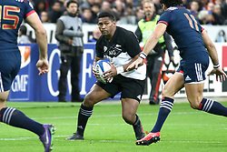 November 11, 2017 - Paris, France - Waisake Naholo in action during the International test match between France and New Zealand at Stade de France. (Credit Image: © SOPA via ZUMA Wire)