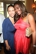 24 June 2010- Miami Beach, Florida- l to r: Melanie Sharee and Kenya Moore at the The 2010 American Black Film Festival Founder's Brunch held at Emeril's on June 24, 2010. Photo Credit: Terrence Jennings/Sipa