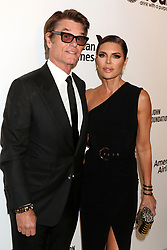 February 24, 2019 - West Hollywood, CA, USA - LOS ANGELES - FEB 24:  Harry Hamlin, Lisa Rinna at the Elton John Oscar Viewing Party on the West Hollywood Park on February 24, 2019 in West Hollywood, CA (Credit Image: © Kay Blake/ZUMA Wire)