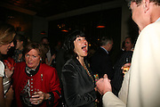Christianne Amanpour and Jeremy Clarkson, A A Gill party to celebrate the  publication of Table Talk, a collection of his reviews. Hosted by Marco Pierre White at <br />Luciano, 72 St James's Street, London,. 22 October 2007, -DO NOT ARCHIVE-© Copyright Photograph by Dafydd Jones. 248 Clapham Rd. London SW9 0PZ. Tel 0207 820 0771. www.dafjones.com.