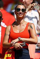 Alex Witsel (Belgium) girlfriend Raffaella Szabo<br /> Moscow 23-06-2018 Football FIFA World Cup Russia  2018 <br /> Belgium - Tunisia / Belgio - Tunisia <br /> Foto Matteo Ciambelli/Insidefoto