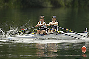 2006 FISA World Cup, Lucerne, SWITZERLAND, 08.07.2006. GBR2 LW2X, bow Lindsey DICK and Hester GOODSELL. Photo  Peter Spurrier/Intersport Images email images@intersport-images.com....[Mandatory Credit Peter Spurrier/Intersport Images... Rowing Course, Lake Rottsee, Lucerne, SWITZERLAND.