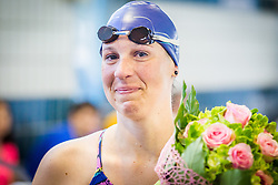 Anja Carman Cekic during her retirement in Olympic swimming pool Kranj, Kranj, on May 28. Photo by Ziga Zupan / Sportida