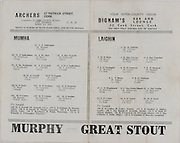 Interprovincial Railway Cup Football Final Replay.Leinster v Munster.Croke Park, Dublin.23rd April 1972.23.04.1972