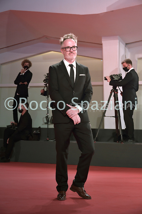 """VENICE, ITALY - SEPTEMBER 10: Kyle Rankin the red carpet ahead of the movie """"Run Hide Fight"""" at the 77th Venice Film Festival on September 10, 2020 in Venice, Italy.<br /> (Photo by Rocco Spaziani)"""