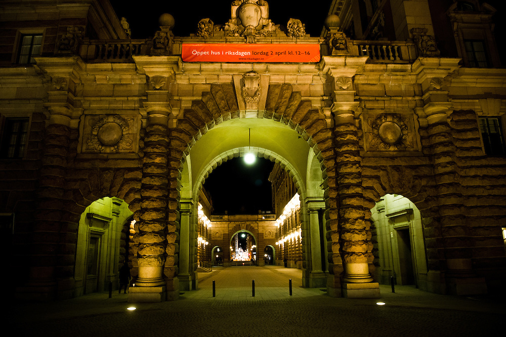 The parliamnet building - Stockholm