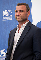 Liev Schreiber at The Bleeder film photocall at the 73rd Venice Film Festival, Sala Grande on Friday September 2nd 2016, Venice Lido, Italy.