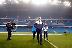 """Tottenham Hotspur's Eric Dier checks out the pitch before the Premier League match at the Etihad Stadium, Manchester. PRESS ASSOCIATION Photo. Picture date: Saturday December 16, 2017. See PA story SOCCER Man City. Photo credit should read: Martin Rickett/PA Wire. RESTRICTIONS: EDITORIAL USE ONLY No use with unauthorised audio, video, data, fixture lists, club/league logos or """"live"""" services. Online in-match use limited to 75 images, no video emulation. No use in betting, games or single club/league/player publications."""