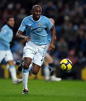 Fotball<br /> England<br /> Foto: Fotosport/Digitalsport<br /> NORWAY ONLY<br /> <br /> Patrick Vieira<br /> Manchester City 2009/10<br /> Manchester City V Bolton Wanderers (2-0) 09/02/10<br /> The Premier League