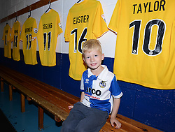 Fans get to look around the changing room at the Memorial Stadium during an Open Day - Mandatory by-line: Dougie Allward/JMP - 07966386802 - 26/07/2015 - SPORT - FOOTBALL - Bristol,England - Memorial Stadium - Bristol Rovers Open Day - Bristol Rovers Open Day