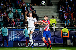 August 15, 2018 - Tallinn, Estonia - Gareth Bale of FC Real Madrid in action at UEFA Super Cup 2018 in Tallinn..The UEFA Super Cup 2018 was played between Real Madrid and Atletico Madrid. Atletico Madrid won the match 4-2 during extra time after and took the trophy after drawing at 2-2 during the first 90 minute of game play. (Credit Image: © Hendrik Osula/SOPA Images via ZUMA Wire)
