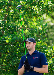 Dewald Lubbe of South Africa Republic during Slovenia Long Drivers European Tour  Championship on July 5, 2014 in  Golf Arboretum Ljubljana, Volcji Potok, Slovenia. Photo By Vid Ponikvar / Sportida