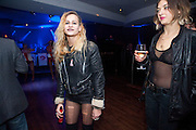 ALICE DELLAL;  EMMA CHITTY, Proud Cabaret launch. Mark Lane. London. EC3. 3 November 2009