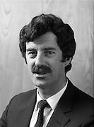 Dick Spring TD Minister for Energy.20/03/1984