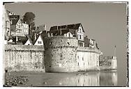 Mont Saint-Michel Town Walls - Brittany - France