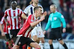 Goal, James Ward-Prowse of Southampton scores from the penalty spot, Southampton 2-0 West Bromwich Albion - Mandatory by-line: Jason Brown/JMP - 07966386802 - 16/01/2016 - FOOTBALL - Southampton, St Mary's Stadium - Southampton v West Bromwich Albion - Barclays Premier League