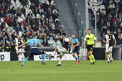 May 19, 2019 - Turin, Turin, Italy - Paulo Dybala of Juventus FC and Hans Hateboer,  of Atalanta BC during the Serie A match at Allianz Stadium, Turin (Credit Image: © Antonio Polia/Pacific Press via ZUMA Wire)