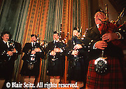 Bagpipe ensemble, Scots Irish customs, Wilkes Barre, PA
