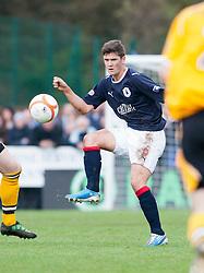 Falkirk's Stewart Murdoch..Annan Athletic 0 v 3 Falkirk. Semi Final of the Ramsdens Cup, 9/10/2011..Pic © Michael Schofield.