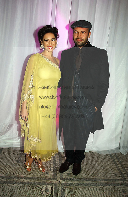 KELLY BROOK and BILLY ZANE at the British Fashion Awards 2006 sponsored by Swarovski held at the V&A Museum, Cromwell Road, London SW7 on 2nd November 2006.<br />