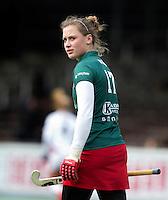 AMSTELVEEN - HOCKEY - Lieke van Wijk van MOP tijdens de hoofdklasse hockeywedstrijd tussen de vrouwen van Amsterdam en MOP (2-0). FOTO KOEN SUYK