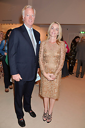 SIR MARK & LADY THATCHER at the Masterpiece Marie Curie Party supported by Jeager-LeCoultre held at the South Grounds of The Royal Hospital Chelsea, London on 30th June 2014.