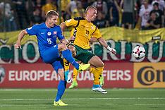 Lithuania v Slovakia - 10 June 2017
