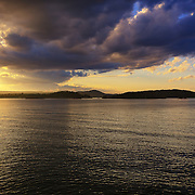 """""""The Reckoning""""<br /> <br /> Amazing skies close to sunset in Marquette Michigan, on Lake Superior!"""