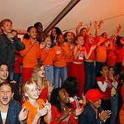 Uitreiking Kids Choice Awards 2004, kinderen, juichen, schreeuwen, plezier