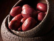 Whole Pecan nuts, stock photos