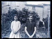 sisters posing together France 1933
