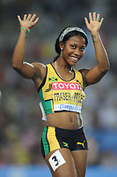 ATHLETICS - IAAF WORLD CHAMPIONSHIPS 2011 - DAEGU (KOR) - DAY 3 - 29/08/2011 - WOMEN 100M - SHELLY-ANN FRASER-PRYCE (JAM) - PHOTO : FRANCK FAUGERE / KMSP / DPPI