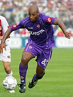 Firenze 01/10/2006<br /> Campionato Italiano Serie A 2006/07<br /> Fiorentina-Catania 3-0<br /> Reginaldo Ferreira da Silva Fiorentina<br /> Foto Luca Pagliaricci Inside<br /> www.insidefoto.com