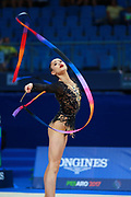 Aya Tanaka Probert is a very young gymnast born in November 2001. She comes from the New Zealand. Her jumps are really special.